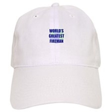 World's Gretest Fireman Baseball Cap