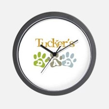 Tucker's Dad Wall Clock