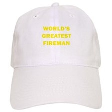 World's Greatest Fireman Baseball Cap