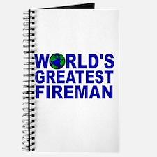 World's Greatest Fireman Journal