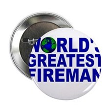 """World's Greatest Fireman 2.25"""" Button (10 pack)"""