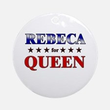 REBECA for queen Ornament (Round)