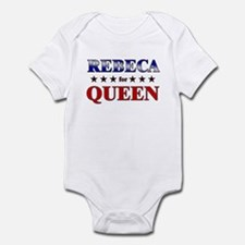 REBECA for queen Infant Bodysuit