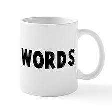 Weasel words Mug