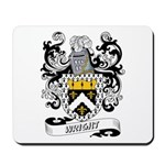 Wright Coat of Arms Mousepad