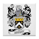 Wright Coat of Arms Tile Coaster
