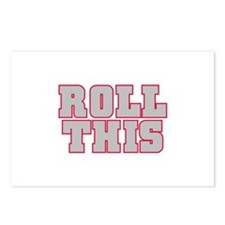 Original ROLL THIS! Postcards (Package of 8)