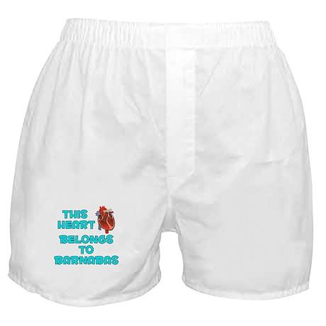 This Heart: Barnabas (B) Boxer Shorts