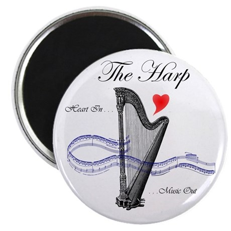 'The Harp' Magnet