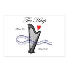 'The Harp' Postcards (Package of 8)