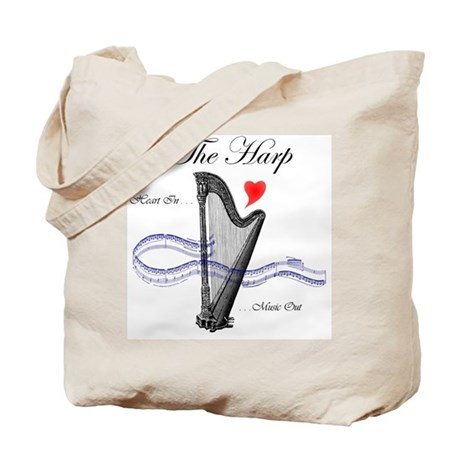 'The Harp' Tote Bag