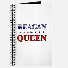 REAGAN for queen Journal