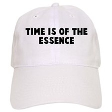 Time is of the essence Baseball Cap