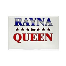 RAYNA for queen Rectangle Magnet