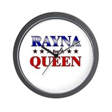 RAYNA for queen Wall Clock