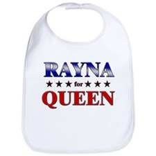 RAYNA for queen Bib