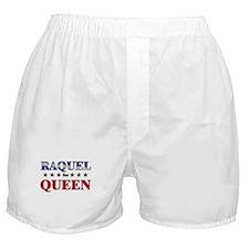 RAQUEL for queen Boxer Shorts