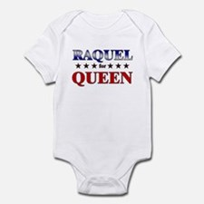 RAQUEL for queen Infant Bodysuit