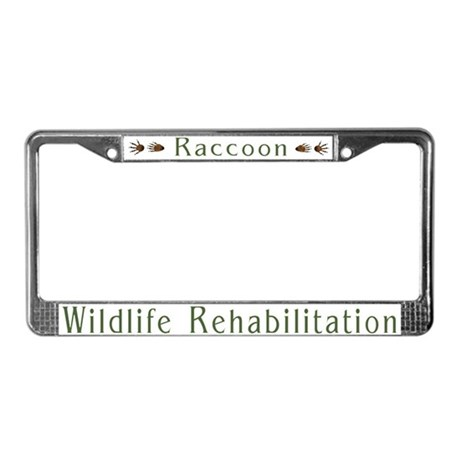 Wildlife Rehabilitation License Plate Frame