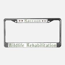 Wildlife Rehabilitation License Plate Frame