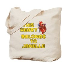 This Heart: Janelle (A) Tote Bag