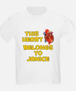 This Heart: Janice (A) T-Shirt