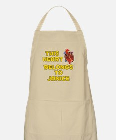 This Heart: Janice (A) BBQ Apron