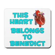 This Heart: Benedict (B) Mousepad