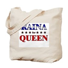 RAINA for queen Tote Bag