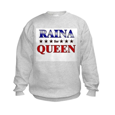 RAINA for queen Kids Sweatshirt