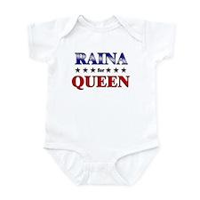 RAINA for queen Infant Bodysuit