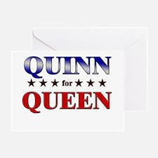 QUINN for queen Greeting Card