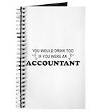 Accountant Journals & Spiral Notebooks