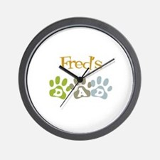 Fred's Dad Wall Clock