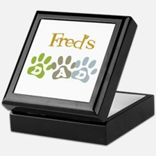 Fred's Dad Keepsake Box