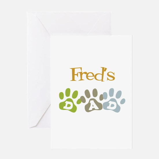 Fred's Dad Greeting Card