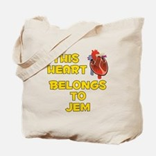 This Heart: Jem (A) Tote Bag