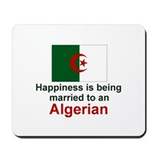 Happily Married To Algerian Mousepad