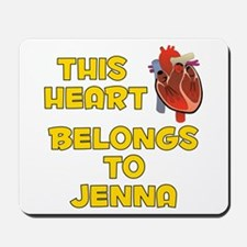 This Heart: Jenna (A) Mousepad