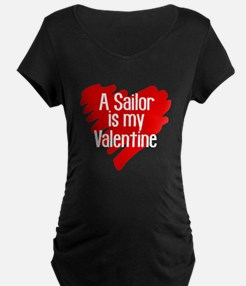 Sailor Valentine Red Scribb T-Shirt