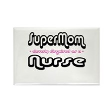 """SuperMom cleverly disguised as a Nurse"" Rectangle"