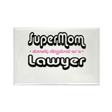 """SuperMom cleverly disguised as a Lawyer"" Rectangl"