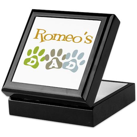 Romeo's Dad Keepsake Box