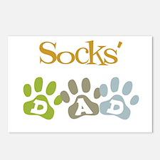 Socks's Dad Postcards (Package of 8)