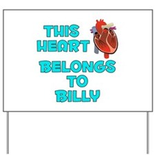 This Heart: Billy (B) Yard Sign