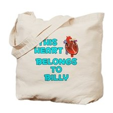 This Heart: Billy (B) Tote Bag