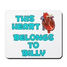 This Heart: Billy (B) Mousepad