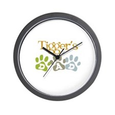Tigger's Dad Wall Clock