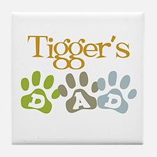Tigger's Dad Tile Coaster