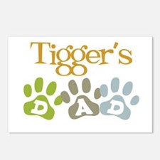 Tigger's Dad Postcards (Package of 8)